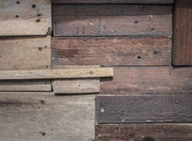 Wooden scrap plank texture background Stock Image