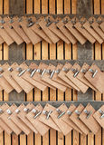 Wooden scratchpads Royalty Free Stock Image