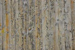 Wooden screen of boards Royalty Free Stock Images