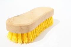Wooden scrub brush Stock Image