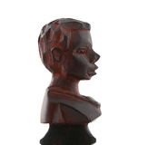 Wooden sculpture from Africa Royalty Free Stock Photography