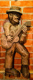 Wooden sculpture Royalty Free Stock Photo
