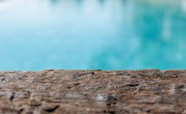 Wooden and sea background royalty free stock photography