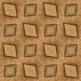 Wooden Seamless Pattern Stock Photo