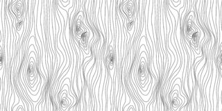 Wooden Seamless texture. Wood grain pattern. Abstract fibers structure background, vector illustration