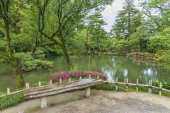 Japanese garden Royalty Free Stock Images