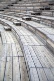 Wooden seats Stock Image