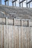 Wooden seats Royalty Free Stock Images