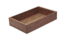 Wooden seed tray. Stock Image
