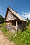 Wooden shack Royalty Free Stock Photo