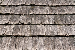 Wooden Shake Shingles Royalty Free Stock Images