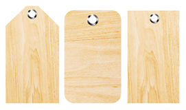 Wooden shapes Stock Images