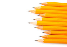 Wooden sharp pencils Royalty Free Stock Photography