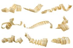 Wooden shavings stock photography
