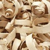 Wooden shavings Stock Image