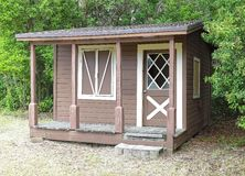Wooden shed Stock Images