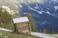 Wooden shed Royalty Free Stock Image