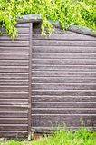 Wooden shed Stock Image