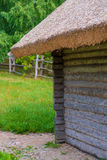Wooden shed in the countryside Royalty Free Stock Image