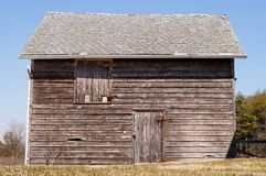 Wooden Shed Stock Photo