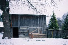 Wooden Shed Stock Photos