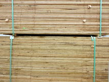 Wooden sheets display Stock Photos