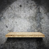 Wooden shelf Stock Image