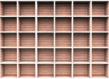Wooden shelf Stock Image