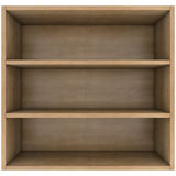 Wooden shelves Stock Photos