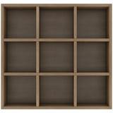 Wooden shelves Stock Photography