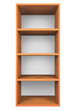 Wooden shelves Royalty Free Stock Image