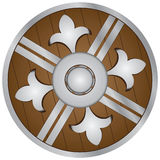 Wooden Shield Stock Images