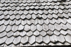 Wooden shingle Royalty Free Stock Photography