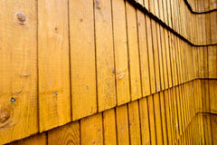 Wooden shingle background Stock Photos