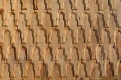 Wooden shingle Royalty Free Stock Photography