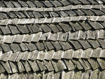 Wooden shingle roof Stock Image