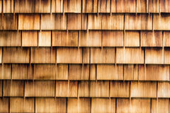 Wooden shingles – Horizontal Background Stock Photos