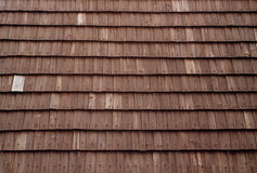 Wooden shingles Royalty Free Stock Photos