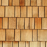 Wooden shingles. Great for background or industry illustration Stock Photo