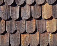 Wooden shingles Royalty Free Stock Image