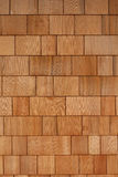 Wooden Shingles. A fresh wooden shingles background pattern Royalty Free Stock Photo