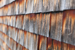 Wooden Shingles Stock Image