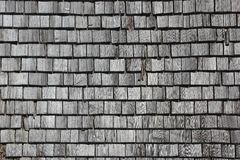 Wooden shingles Stock Photo