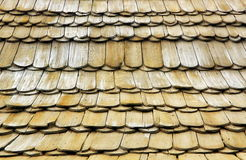Wooden shingles texture. Wood background Royalty Free Stock Photos