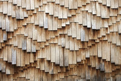 Wooden shingles texture Stock Photo