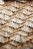 Wooden shingles texture Royalty Free Stock Photos
