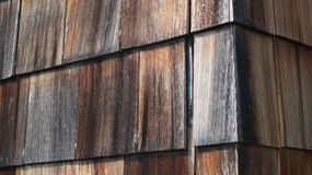 Wooden Shingles. To make a nice background Stock Image