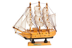Wooden ship Stock Image