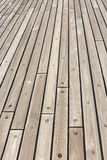 Wooden Ship Deck Royalty Free Stock Photography
