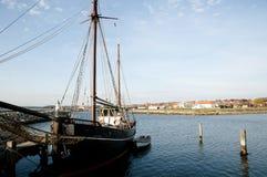 Wooden Ship - Ebeltoft - Denmark Royalty Free Stock Photos